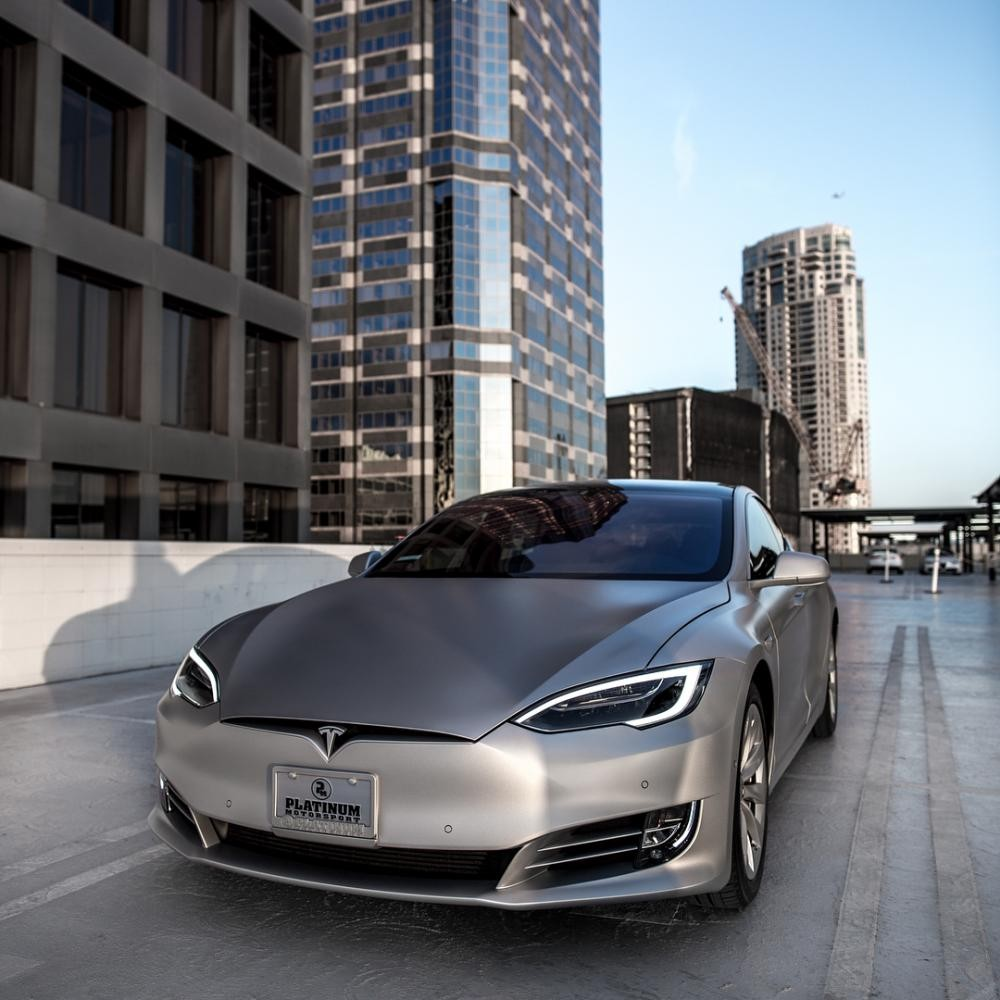 Chiếc Tesla Model S này thuộc bản P100D