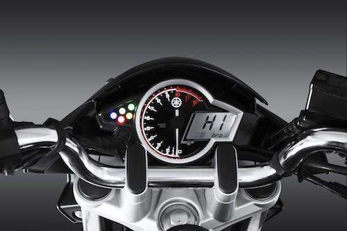 Thiết kế Bảng đồng hồ của xe Yamaha FZ150i
