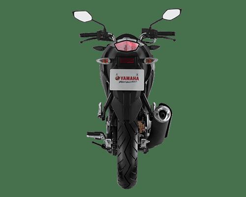 Thiết kế Đuôi xe Yamaha FZ150i 2018