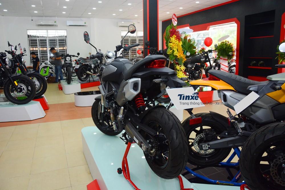 GPX Demon X thực chất là bản nâng cấp của chiếc Demon 2016được xem như phiên bản thu nhỏ của chiếc mô tô Ducati Monster 795.