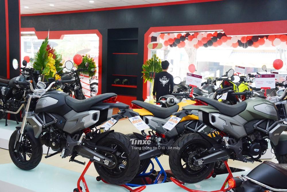 Đối thủ của Honda MSX 125 tại Việt Nam sẽđượcbánra với4 màu sắc chính là xanh rêu, vàng, đen vàđỏ.