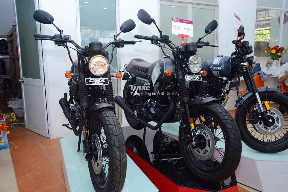 Sau khoảng 1 năm ra mắt thị trường Việt Nam, thương hiệu mô tô cổđiển Brixtonđã cóđối thủ chính tạiđây. Cái tênđược nhắcđến là GPX Racing một hãng xe máyđến từ Thái Lan
