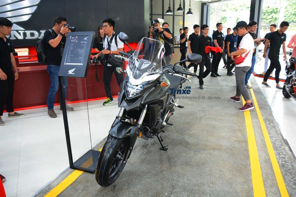 Honda CB500X 2018 được đánh giá là mẫu adventure tốt nhất trong tầm giá