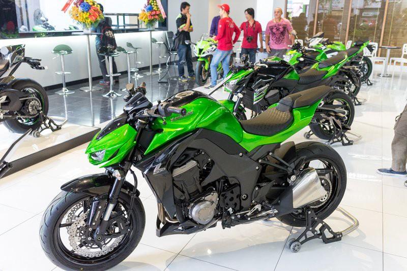 Kawasaki nổi tiếng tại Việt Nam với Z1000