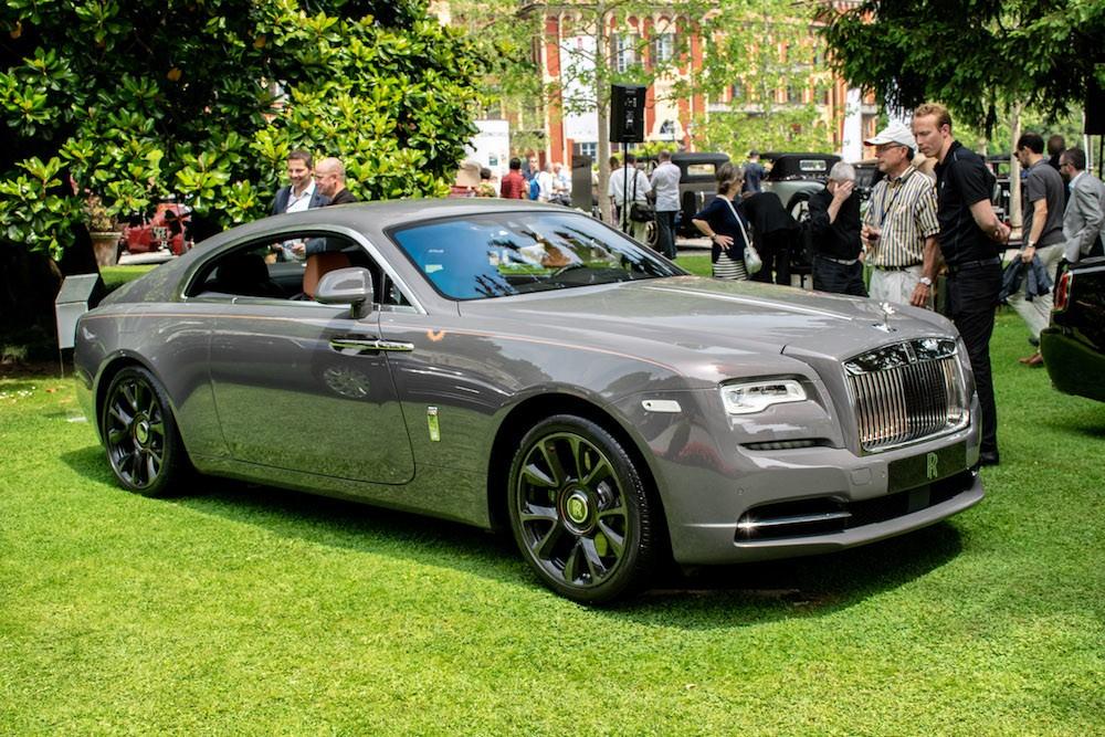Rolls-Royce Wraith Luminary Collection trong sự kiện tại Ý