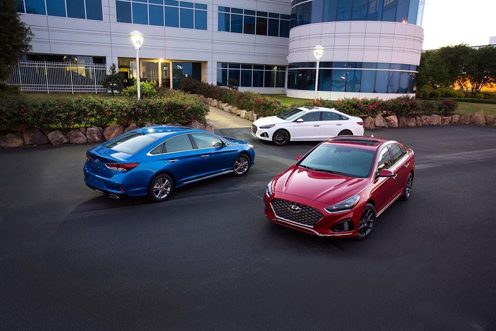 Hyundai Sonata 2018 tại Mỹ
