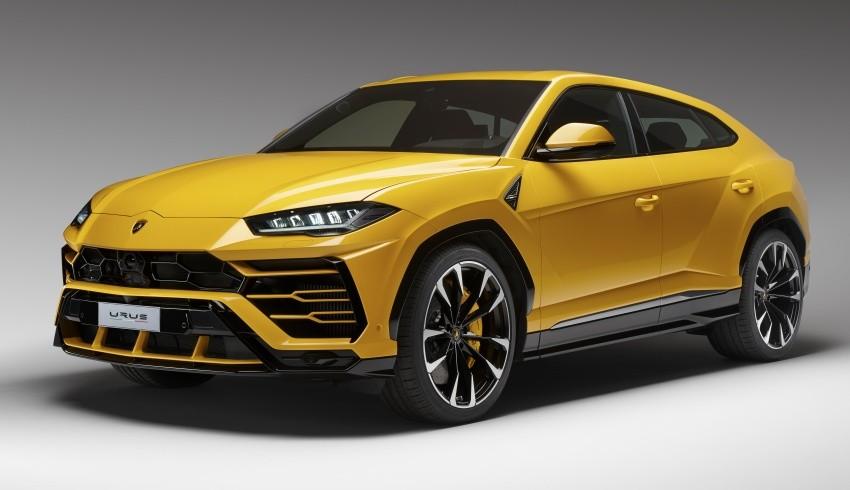 Lamborghini Urus chính hãng