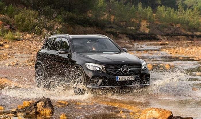 Mercedes-Benz GLC chỉ có thể lội nước ở mức 300mm