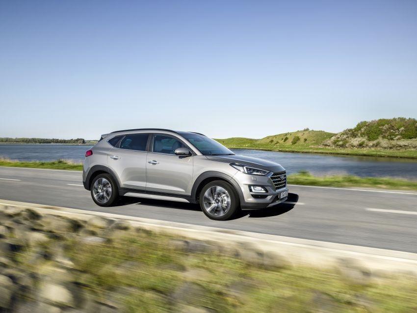Hyundai Tucson 2019 tại châu Âu dùng chung động cơ với Kia Sportage nâng cấp