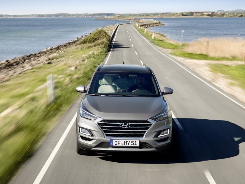 Tại châu Âu, Hyundai Tucson 2019 có cả động cơ xăng lẫn diesel