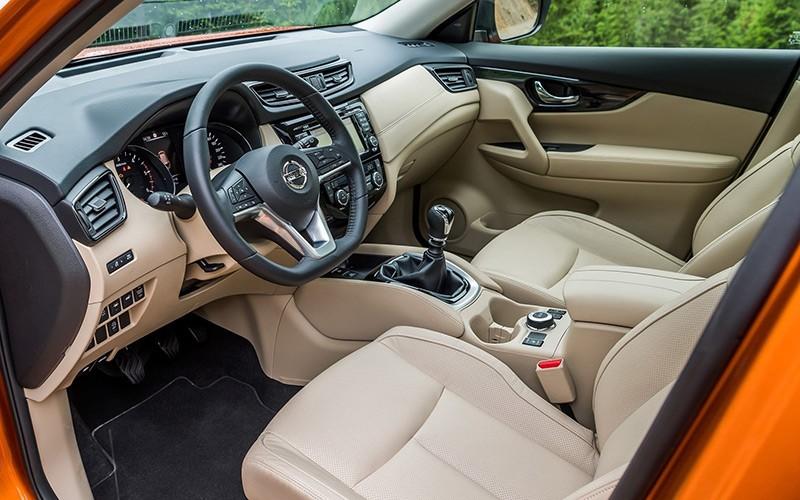 Nội thất của Nissan X-Trail 2018