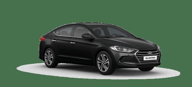 Mẫu Hyundai Elantra màu đen