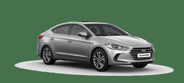 Mẫu Hyundai Elantra màu xám