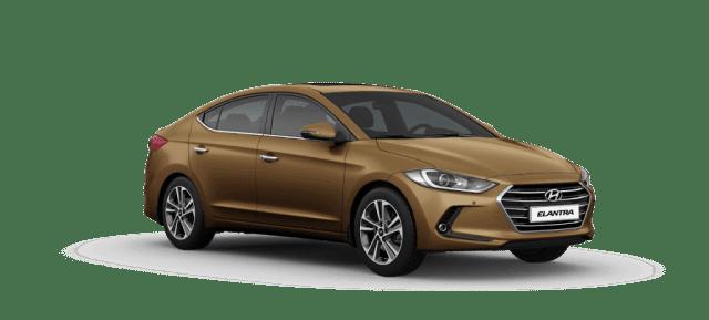 Mẫu Hyundai Elantra màu nâu