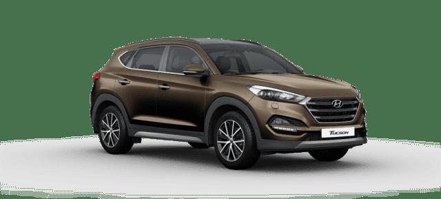 Mẫu Hyundai Tucson màu cát