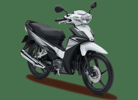 Mẫu Honda Blade màu đen trắng