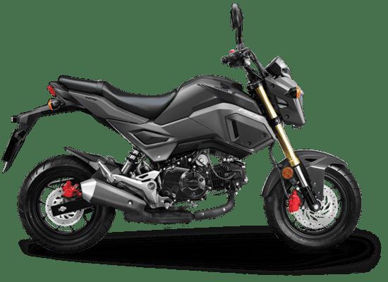 Mẫu Honda MSX màu xám ghi đen