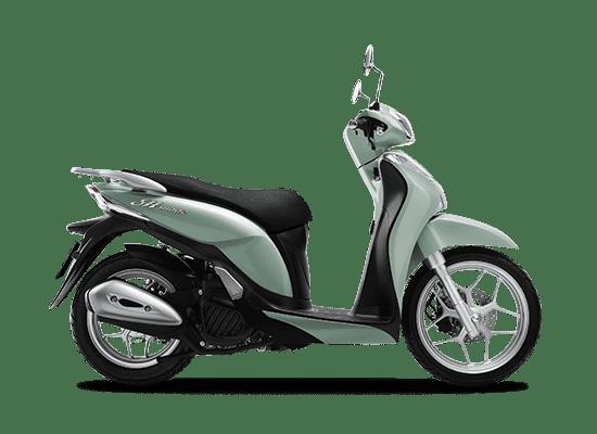 Mẫu Honda SH Mode màu xanh ngọc