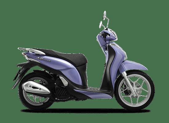 Mẫu Honda SH Mode màu xanh tím