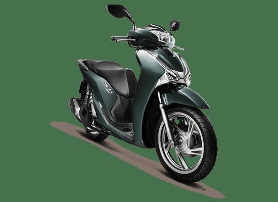 Mẫu Honda SH màu xanh lục - đen