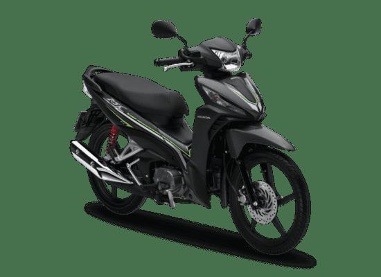 Mẫu Honda Wave RSX màu đen xám