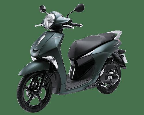 Mẫu Yamaha Janus màu xanh lục