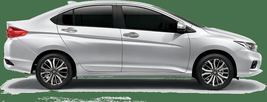 Mẫu Honda City màu trắng