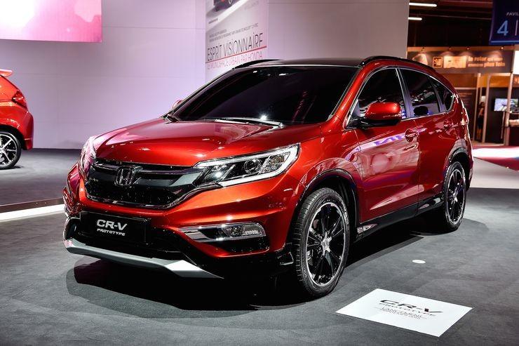Mẫu Honda CR-V màu đỏ