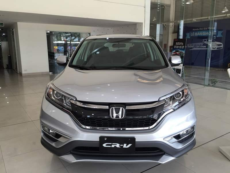 Mẫu Honda CR-V màu ghi bạc