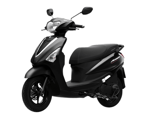 Mẫu Yamaha Acruzo màu đen