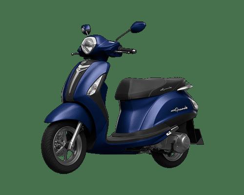 Mẫu Yamaha Grande màu xanh đậm