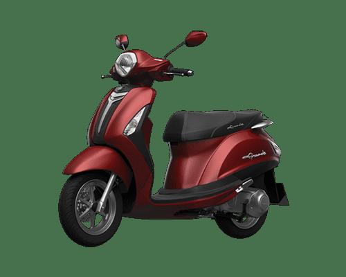 Mẫu Yamaha Grande màu nâu đỏ