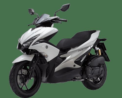 Mẫu Yamaha NVX trắng ánh kim