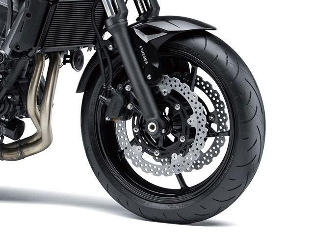 Hệ thống treo trước của Kawasaki Z650 2018