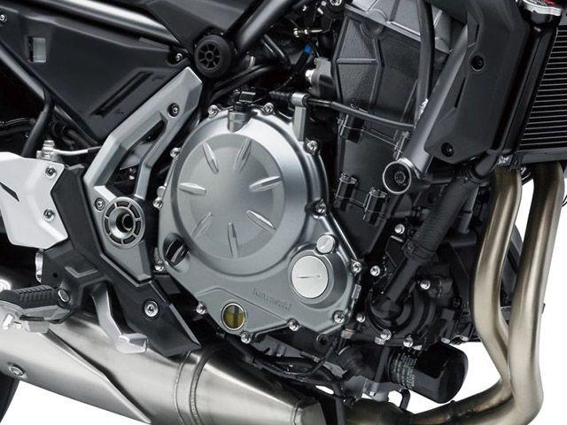 Động cơ Kawasaki Z650 2018 tương tự như Ninja 650