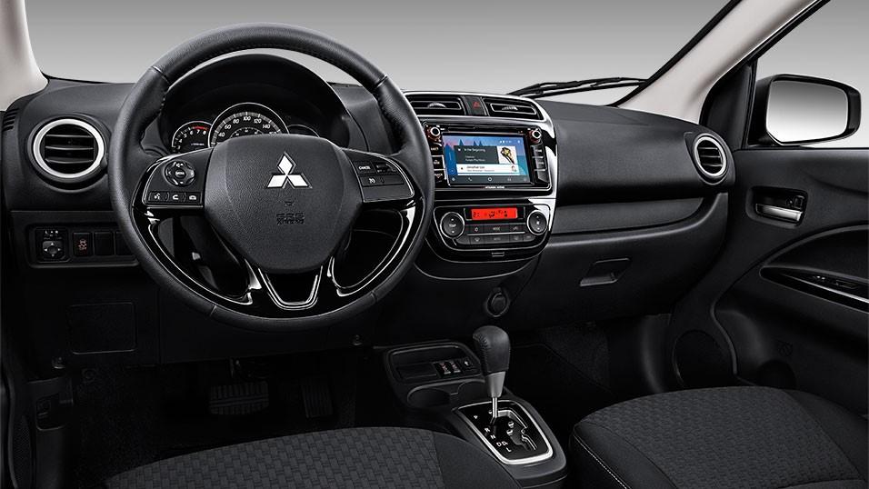 Tiện nghi bên trong của Mitsubishi Mirage