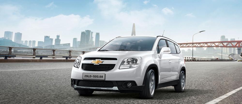 Mẫu Chevrolet Orlando màu trắng