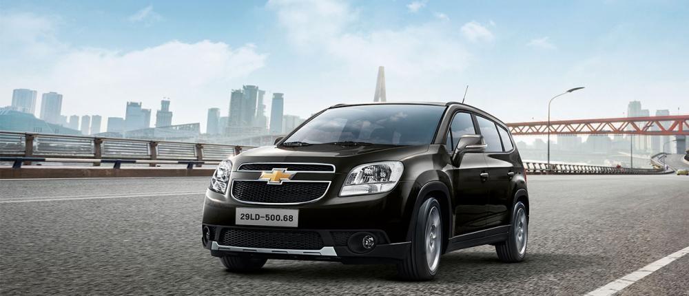 Mẫu Chevrolet Orlando màu đen
