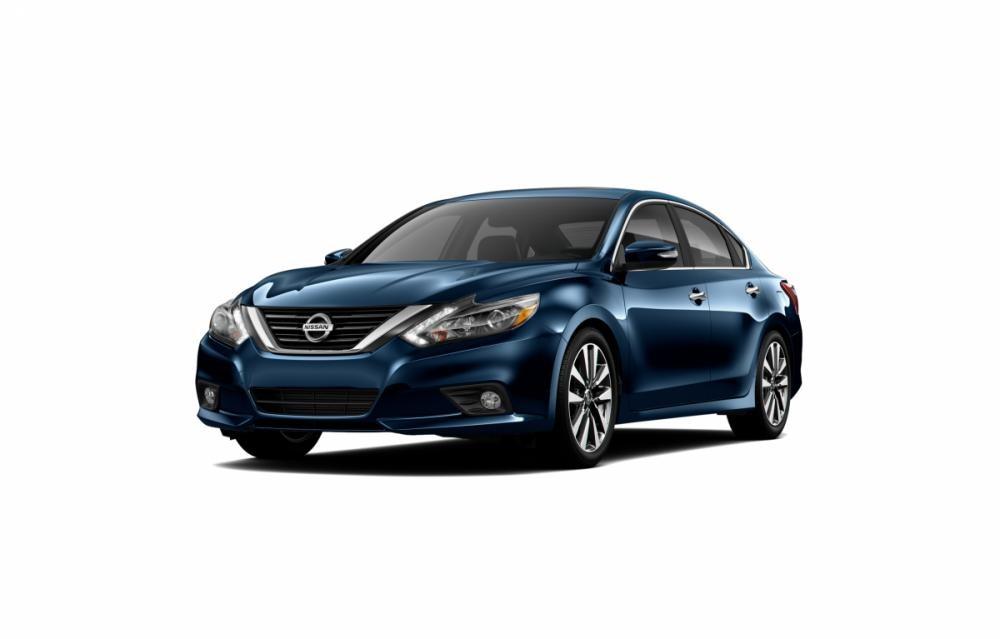 Mẫu Nissan Teana màu xanh