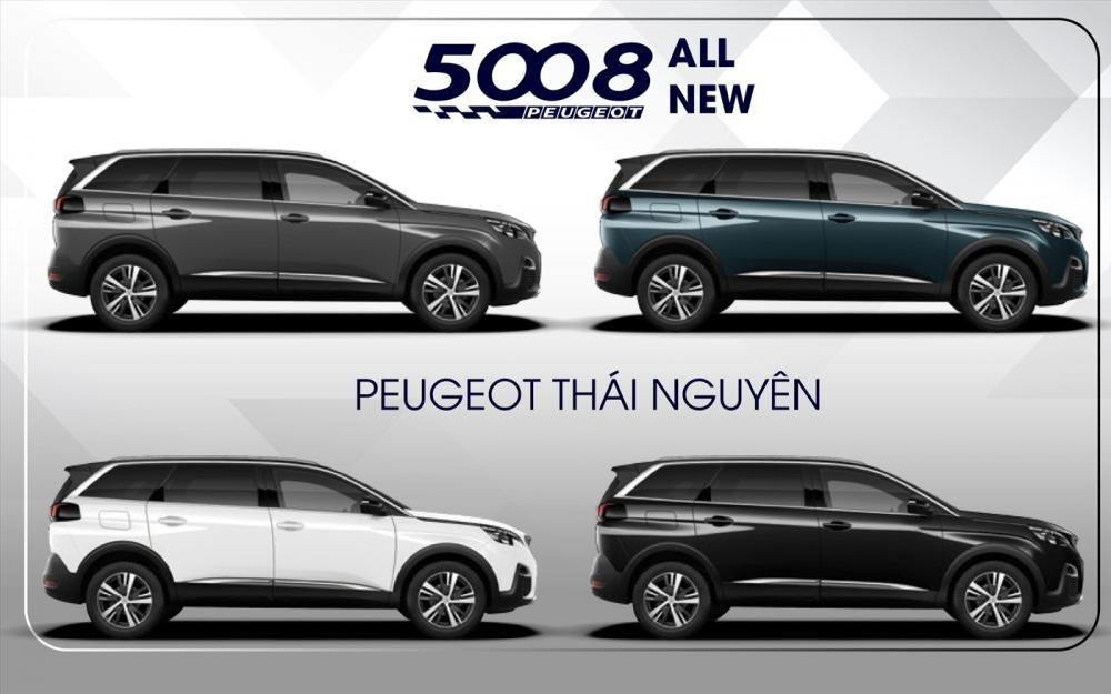 màu sắc ngoại thất của Peugeot 5008