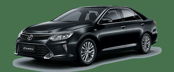 Mẫu Toyota Camry màu đen