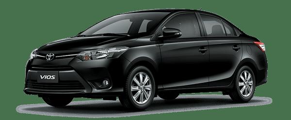 Mẫu Toyota Vios màu đen