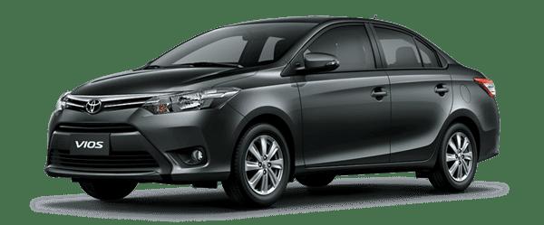 Mẫu Toyota Vios màu xám