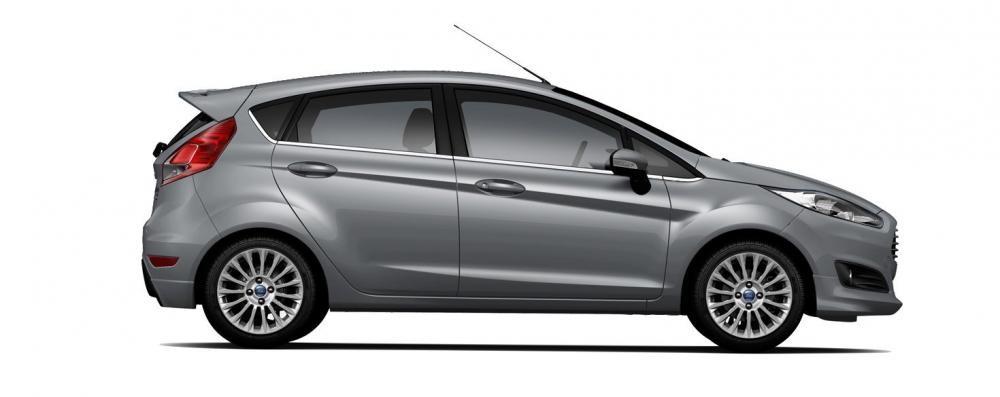 Mẫu Ford Fiesta màu xám