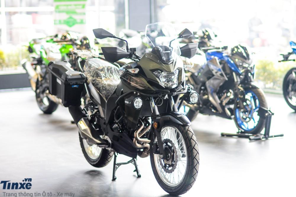 Kawasaki Versys X-300 sẽ được giảm mạnh chỉ còn 128 triệu đồng cho bản full touring