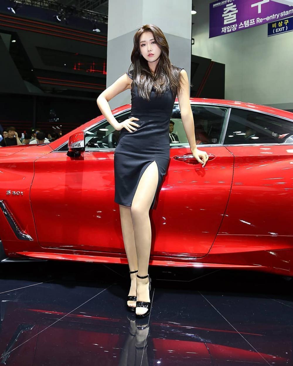 Ngất ngây với người mẫu Hàn Quốc đẹp như tiên tại triển lãm ô tô Busan 2018 - 12
