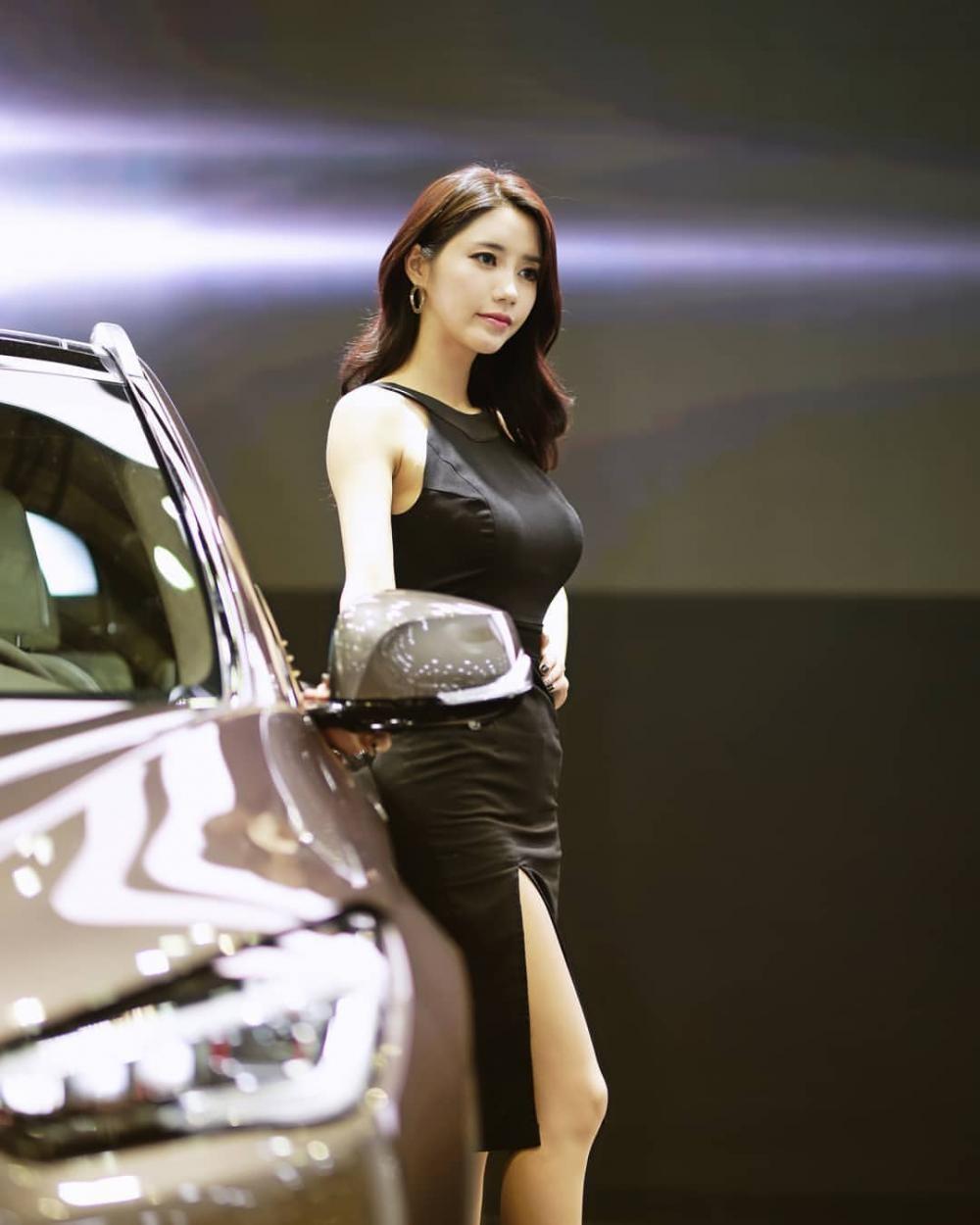 Ngất ngây với người mẫu Hàn Quốc đẹp như tiên tại triển lãm ô tô Busan 2018 - 5
