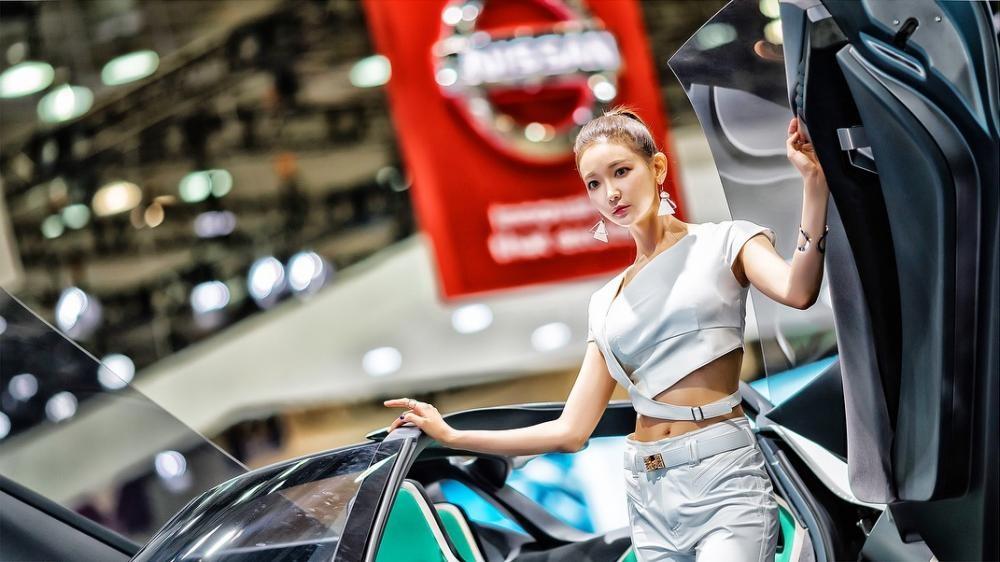 Ngất ngây với người mẫu Hàn Quốc đẹp như tiên tại triển lãm ô tô Busan 2018 - 23