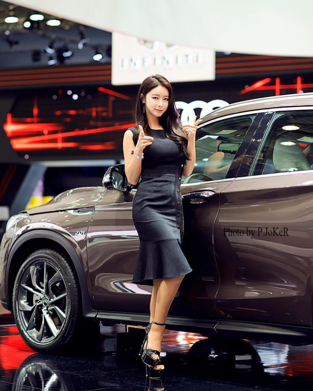 Ngất ngây với người mẫu Hàn Quốc đẹp như tiên tại triển lãm ô tô Busan 2018 - 16
