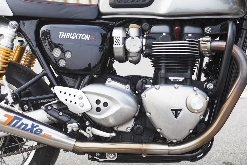 Động cơ Triumph Thruxton R 2017